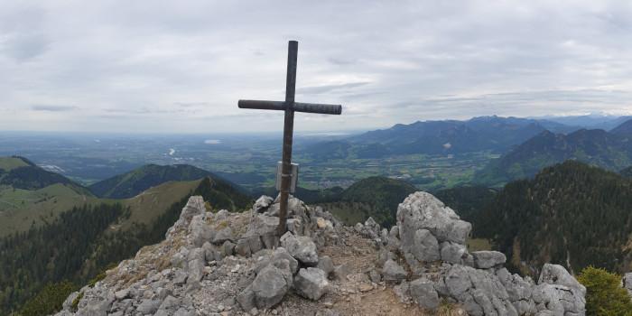 Teaserbild zur Tour - Bike & Hike Tour über den Lechnerkopf auf die Hochsalwand