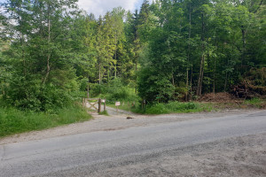Abzweigung Richtung Sankt Margarethen - Wegpunkt 1 entlang der Tour