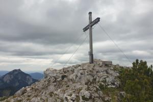 Hochsalwand (1625 m) - Wegpunkt 10 entlang der Tour
