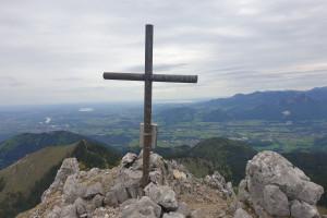 Lechnerkopf (1547 m) - Wegpunkt 9 entlang der Tour