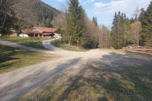 Schlipfgrubalm - Wegpunkt 12 entlang der Tour
