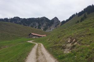 Zur Lechneralm - Wegpunkt 5 entlang der Tour
