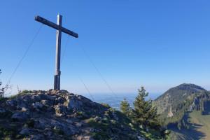 Gipfel Feichteck - Wegpunkt 10 entlang der Tour
