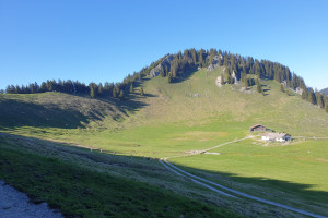 Zur Pölcher Schneid - Wegpunkt 8 entlang der Tour