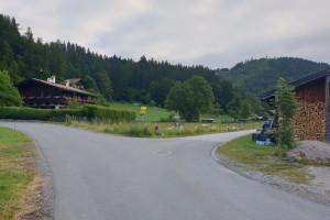 Breitenau - Wegpunkt 1 entlang der Tour