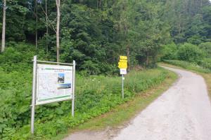 Kreit - Wegpunkt 3 entlang der Tour