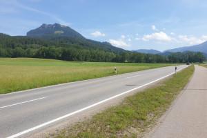 Ortseingang Elbach - Startpunkt der Mountainbike Tour