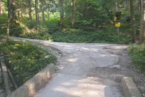 Zur Kesselalm - Wegpunkt 4 entlang der Tour