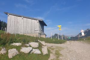 Start Aufstiegsroute zum Breitenstein - Wegpunkt 7 entlang der Tour
