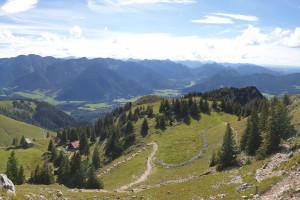Anstieg Breitenstein über Hubertushütte - Wegpunkt 8 entlang der Tour