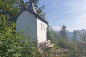 Kesselalm Kapelle - Wegpunkt 6 entlang der Tour