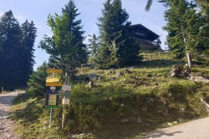 Kesselalm am Breitenstein - Wegpunkt 5 entlang der Tour