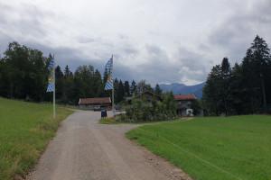 Schweigeralm Fischbachau - Wegpunkt 1 entlang der Tour