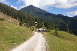 Zum Sillberghaus - Wegpunkt 13 entlang der Tour