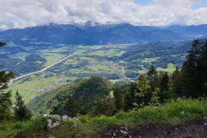 Gipfelblick Wildbarren - Wegpunkt 10 entlang der Tour