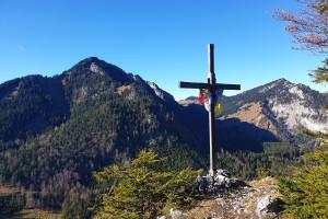 Gipfelpanorama Schortenkopf - Wegpunkt 8 entlang der Tour