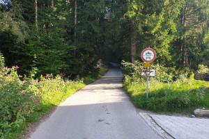 Weißenbach - Wegpunkt 11 entlang der Tour