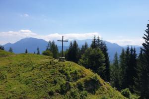 Ausblick Ramserer Alm - Wegpunkt 9 entlang der Tour