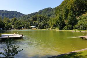 Luegsteinsee - Wegpunkt 2 entlang der Tour