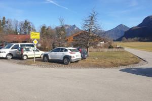Wanderparkplatz Brannenburg - Startpunkt der Mountainbike Tour