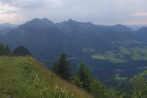 Gipfel Großer Riesenkopf - Wegpunkt 9 entlang der Tour