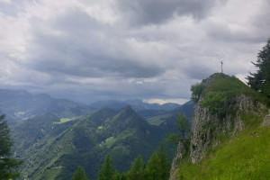 Gipfel Rehleitenkopf - Wegpunkt 8 entlang der Tour