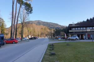 Wanderparkplatz unteres Jenbachtal - Startpunkt der Mountainbike Tour