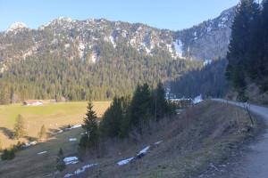 Schlossalm - Wegpunkt 4 entlang der Tour