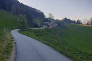Berggasthof Schweinsteig - Wegpunkt 10 entlang der Tour